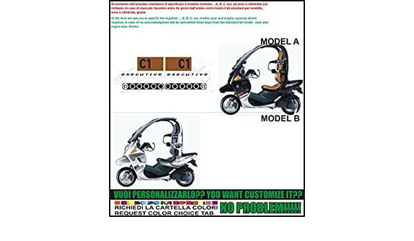 Kit Adesivi Decal Stickers Bmw C1 125 Executive Ability To
