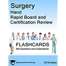 Surgery Hand: Rapid Board and Certification Review (English Edition)