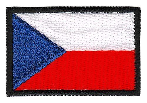 Parche Bandera República Checa tamaño pequeño