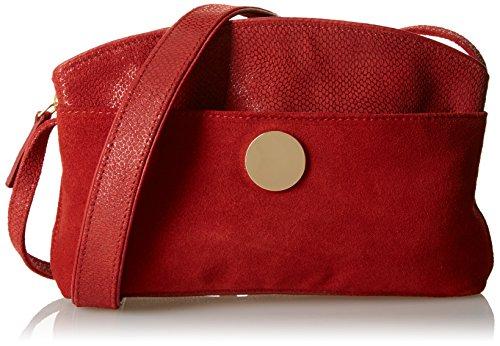 Petite Mendigote Corail, Borsa a spalla donna , Rosso (Rouge (Bossa)), Taille Unique