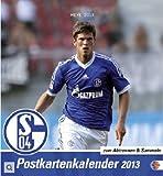 FC Schalke 04 2013. Sammelkarten Postkartenkalender