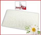 Coussin Oreiller VENIXSOFT à mémoire de forme (memory foam), avec des microtrous pour une meilleure transpiration, taie d'oreiller en coton amovible et lavable