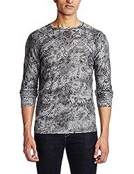 GAS Mens Cotton Sweater (8056775002284_841191938_Small_Medium Grey)