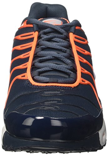 Nike Air Max Plus Scarpe da ginnastica, Uomo Blu (Armory Navy/Pure Platinum/Tart/Wolf Grey)