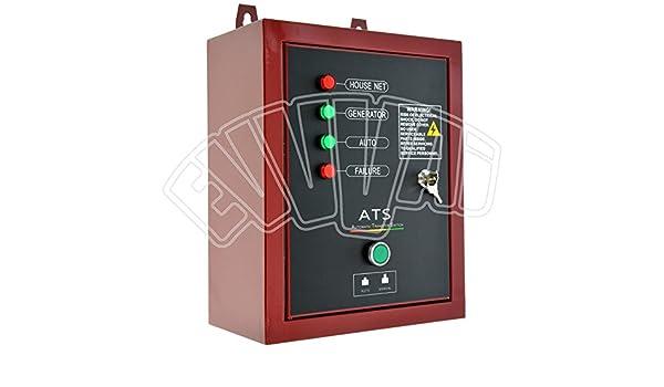 Schema Elettrico Quadro Ats : Ats quadro intervento automatico monofase per generatore di