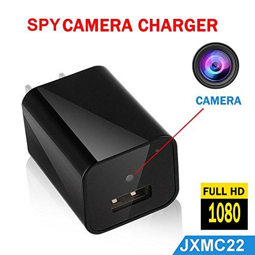 Jenix Spy Camera Power Socket Fitted Wall Hidden Camera 12MP 1080P full HD recording JXMC22