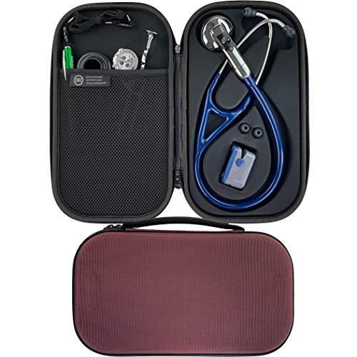 Pod Technical Cardiopod II Stethoskoptasche für alle Littmann Stethoskope, Burgunderrot