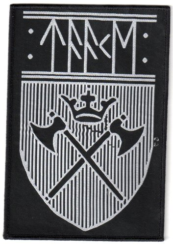 Taake - Logo Shield - Aufnäher / Patch - Wikinger-logo-patch
