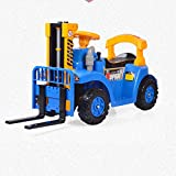 Aiya Kinder können einen Gabelstapler Fahren, der EIN Spielzeugfahrzeug entwickelt hat,Blue