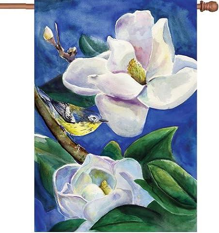 Premier cerfs-volants 52033Maison illuminé Drapeau Paruline, Magnolia, 28par 101,6cm