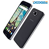 DOOGEE X9 Pro, 5.5 Inch SIM-Free Unlocked Cell Phones - Android 6.0 4G Dual SIM - Mobile Phone With HD IPS Display - 2GB RAM+16GB ROM - 5.0MP+8.0MP Camera - 3000mAh Fingerprint Smartphone - Black