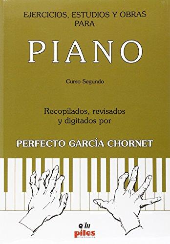 Ejercicios, estudios y obras para piano Curso Segundo
