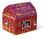 Crocodile Creeks barnyard banter double fun 48 piece jigsaw puzzle will delight all ages. This beautifully illustrated puzzle is also easily stored in a barn shaped cardboard box with velcro enclosure. All Crocodile Creeks puzzles are printed with so...