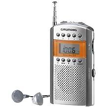 Grundig MINI BOY 62 - Radio portátil FM, plateado