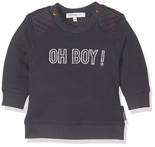 Noppies Baby-Jungen Sweatshirt B Sweater Hewlett, Blau (True Navy C164), 68