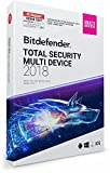 Bitdefender Total Security Multi Device 2018 ? 10 Geräte | 1 Jahr / 365 Tage (MAC, Windows, Android & iOS) - Aktivierungscode -