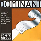 Thomastik-Infeld 130.18 Dominant Violin String Single E String 130 1/8 Size Aluminum Wound Ball End