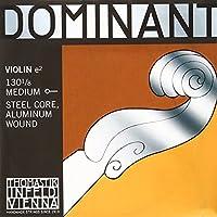 Dominant Strings 130.125 - Cuerda para violín de aluminio en Mi, 1/8