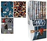 2x Star Wars Geschenkpapier 200x70cm Gift Paper Roll