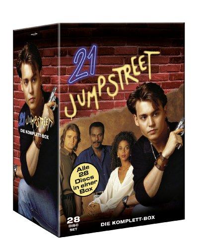 21 Jump Street - Die komplette Serie - Box [28 DVDs]