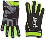 Kookaburra Gravity Hockey Hand Guards - Black/Green, X-Small