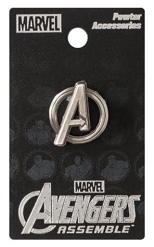 Marvel Avengers Logo Pewter Lapel Pin