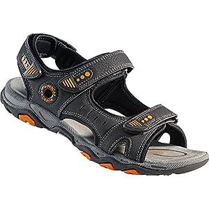 Nordcap Trekkingsandalen, Damen- und Herren-Sandalen, Wander- und Outdoor-Sandalen/mit regulierbaren Schnallen und Profilsohle für mehr Trittsicherheit (Größen: 37-46, in Mehreren Farben