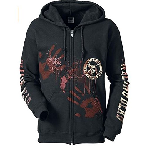 THE WALKING DEAD SURVIVOR Kill Or Die Hoodie Hooded Sweatshirt Zip S M L XL XXL (Small Size - The Walking Dead Kill or Die) (Pullover Hooded Fashion Sweatshirt)
