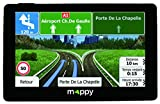 "Mappy Ulti X585 Camp Fixed 5"" TFT Touchscreen Black navigator - Navigators (Internal, Eastern Europe, Western Europe, 12.7 cm (5""), 480 x 272 pixels, TFT, Flash)"