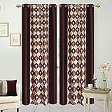 Hargunz Eyelet polyester door curtains-B...