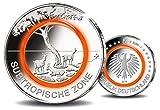 5 Euro |Subtropische Zone |Polymerring |Klimazonen der Erde | Deutschland