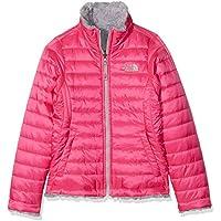The North Face G Reversible Mossbud Swirl Chaqueta, niñas, Rosa (Petticoat Pink), L