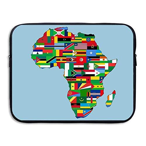 Business Briefcase Sleeve African American Pride Laptop Sleeve Case Cover Handbag for Notebook Computer/Women & Men