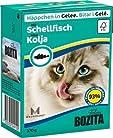 Bozita Cat mit Schellfisch 370g Katzen-Nassfutter Häppchen in Gelee