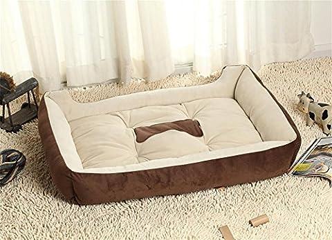 DAN Chats et chien pour animaux domestiques Canapé-lit pour chat et chien , coffee , xs