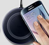 #7: HimanshiTM Presents High Quality Wireless Charger For Wireless Charging Supported Phones Compatible With Samsung S6,S6 Edge, SamsungS7,S7 Edge, Samsung Wireless Charger Note 5,Note 8, S8,S8 plus, Apple Iphone 8,Iphone 8 plus, Apple Iphone X Wireless Charger Come With Feature Ultra Fast Charging,Wireless Charging Stand is Easy To Set Up and Use, Wireless Charging Pad Utilizes Qi Inductive Charging | Wireless Charger For IPhone | Quick Wireless Charger For Samsung |Samsung Wireless Charger