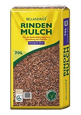 Bellandris Premium Rindenmulch 20-40mm, 70l von Bellandris auf Du und dein Garten
