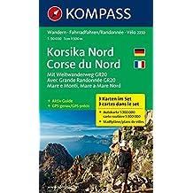 CORSE NORD 2250  1/50.000