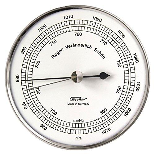 Fischer Barometer aus Edelstahl in Edelstahl-Schutzhülle