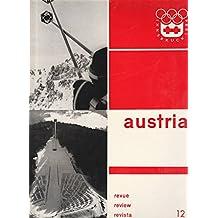AUTRICHE revue No 12 / AUSTRIA review-revista INNSBRUCK 1964 JEUX OLYMPIQUES