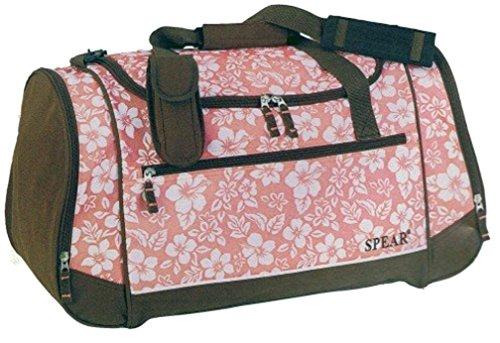 SPEAR Flower 785 Damentasche Sport Umhängetasche in 3 Farben ca 56 x 29 x 26cm Braun/Khaki