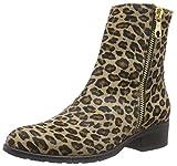 Diavolezza Hannie, Damen Kurzschaft Stiefel, Mehrfarbig (Leopard), 36 EU