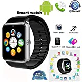 HTC ONE E8 DUAL SIM GT08 Smart Watch With Camera || Smart Watch With Memory Card|| Smart Watch With Sim Card Support ||fitness Tracker|| Bluetooth Smart Watch||Wrist Watch Phone|| Smart Watch With Facebook. Whatsapp|| 4G Smart Watch||Any Color ||Best In Q