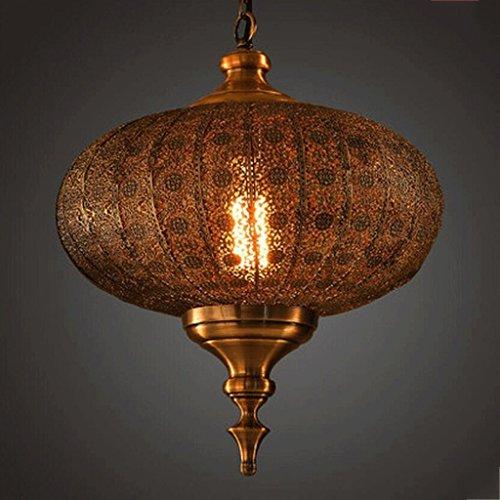 Orientalische Decken-ventilatoren (HOMEE Decke Kronleuchter-Kronleuchter Retro personalisierte Kronleuchter Orientalische Indien Pataliputra Metall Laterne Kronleuchter)