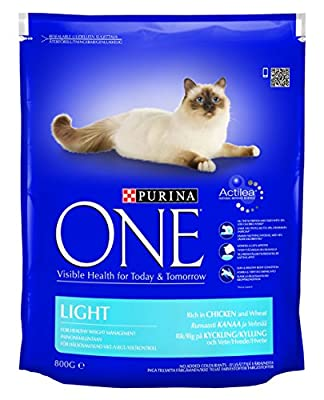 Purina One Cat Food Light Rich In Chicken And Wheat(Pack Of 4) - low-cost UK light store.