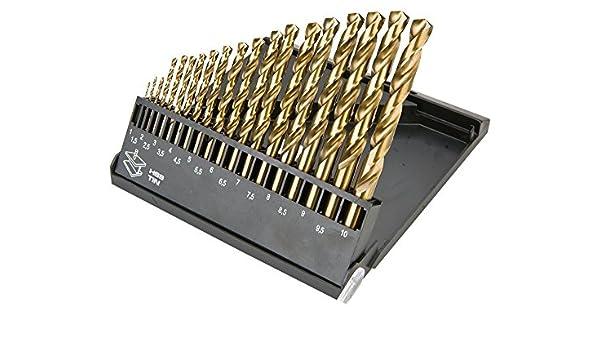 Lot de 57 forets /à main avec /étau /à broches 0,1 mm - Couleur al/éatoire 46 forets micro torsad/és et 10 mini forets PCB pour loisirs cr/éatifs