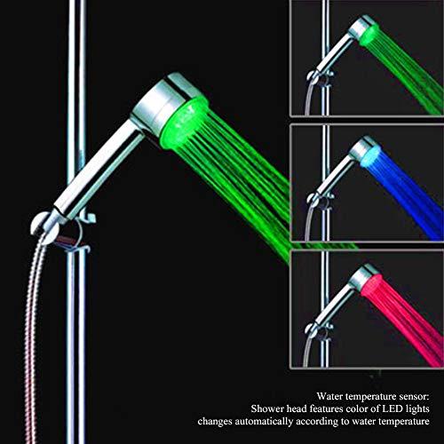 LED-Handheld-Farbtemperaturanzeige Handbrausen G1 / 2