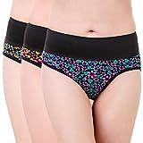 #4: Masha Women Printed Multicolor Tummy Tucker Panties-PT3PC-108-M-P
