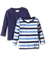 Twins Baby - Jungen Langarmshirt im 2er Pack