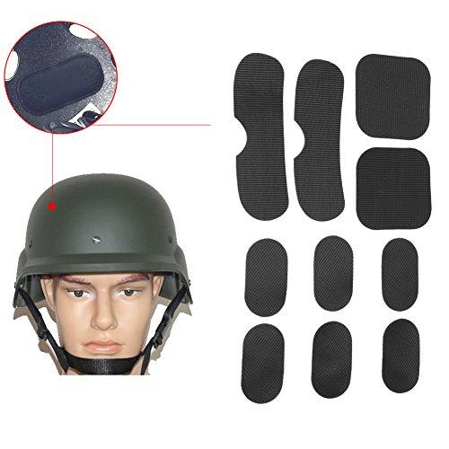 Filfeel - Almohadillas tácticas para Casco, 19 Piezas, Suaves y duraderas, EVA, Accesorios de Repuesto para Casco de Motocicleta